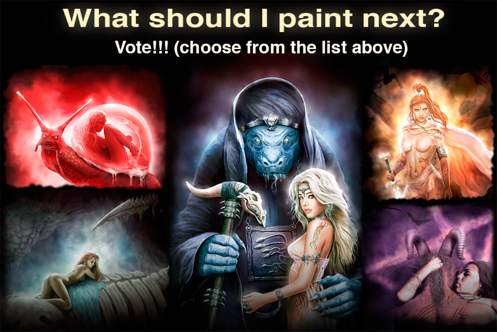 What should I paint next? The vote is coming to an end. Please participate at my site https://alserov.com/category/news/ #alserov #pinup #EroticArt #drawing #digital #art #illustration #fantasyart #digitalartpic.twitter.com/B41GSoSR54