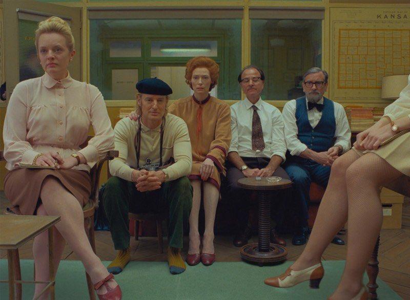 """Replying to @comculturaearte: Novas imagens de """"The French Dispatch."""", próximo filme de Wes Anderson. Via New Yorker"""
