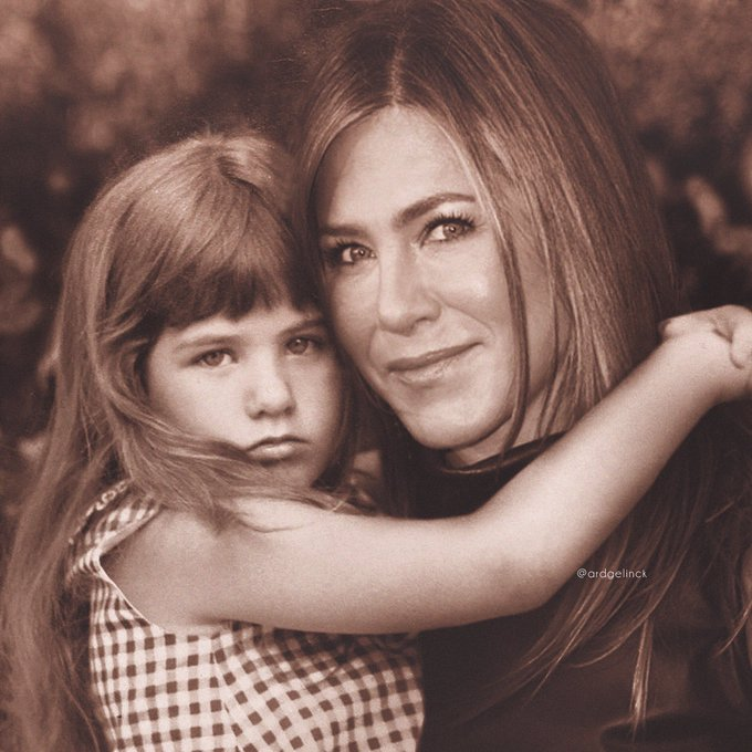 Happy birthday to my friend Jennifer Aniston. CH51RS!  This is Jen, then & now.
