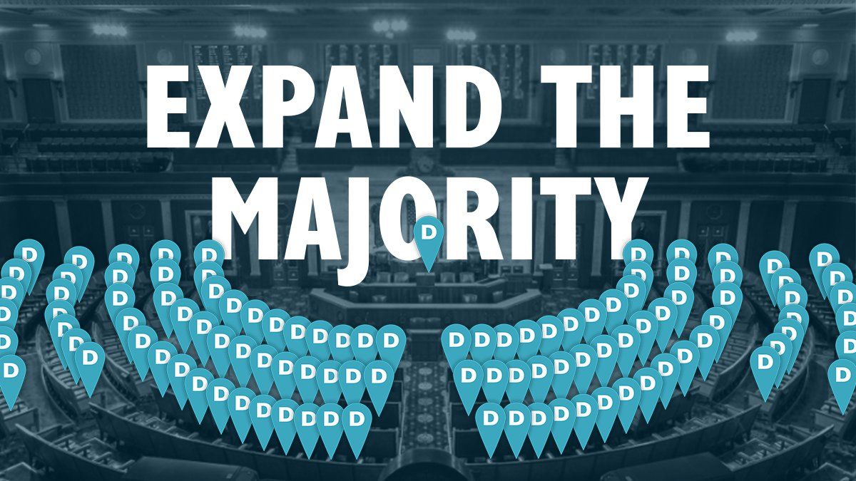 Having the House majority feels good. But you know what feels even better? Expanding the majority.