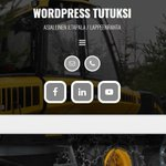 Image for the Tweet beginning: WordPress tutuksi / 2.3. ja 9.3.