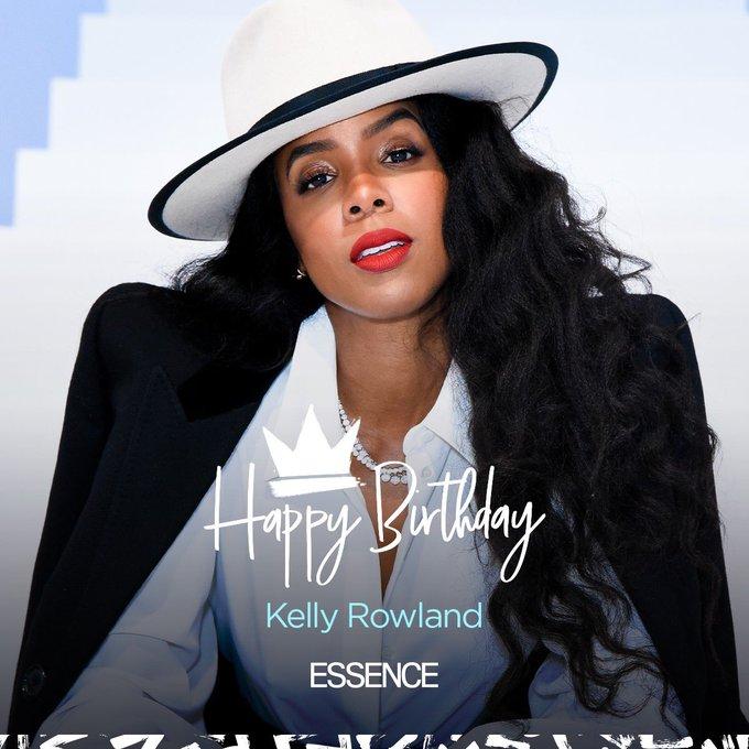 Happy 39th birthday to Kelly Rowland.
