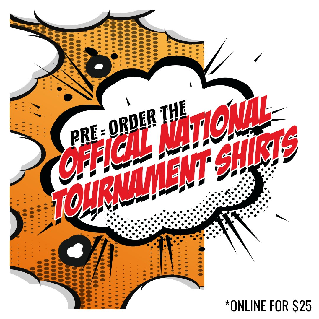 Swipe  to check out the awesome tournament shirts for pre-order.   Go to http://baseballnationals.com  to order yours by March 20th.pic.twitter.com/trT3xAbtop