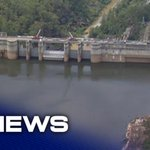 Image for the Tweet beginning: Water storage at Warragamba Dam