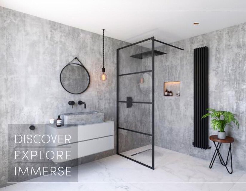DISCOVER-EXPLORE-IMMERSE The future of modern showering. Take a moment to relax in our exclusive suite on the NEC concourse - room 27 & immerse yourself in the advances of wetroom design in full 4D virtual theatre impeyshowers.com/kbb #wetrooms #kbb2020