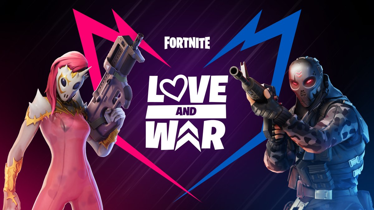 """Fortnite Client fortnite competitive on twitter: """"all is fair in love & war"""