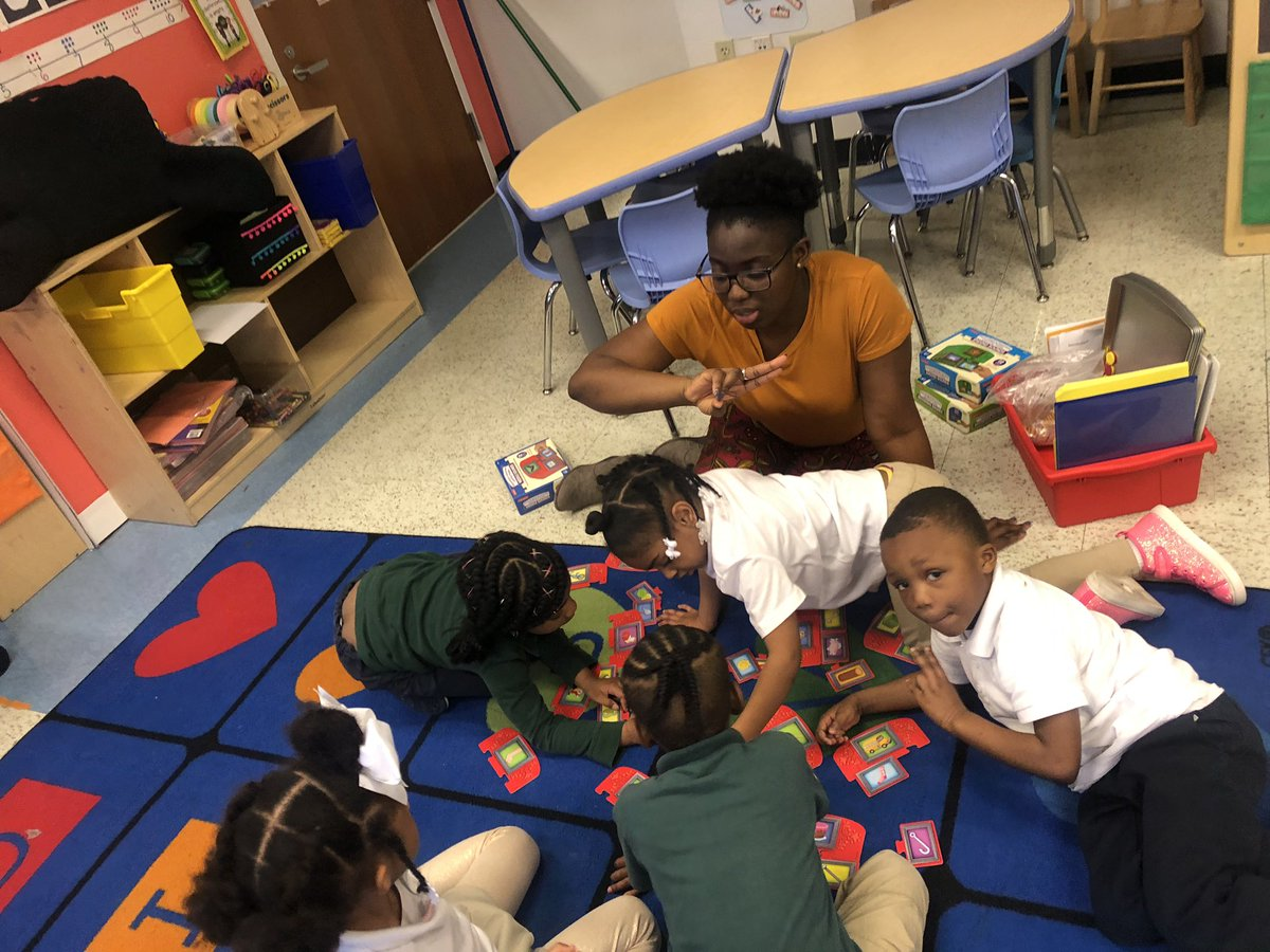Small Group Magic with Ms. S in PK 4!