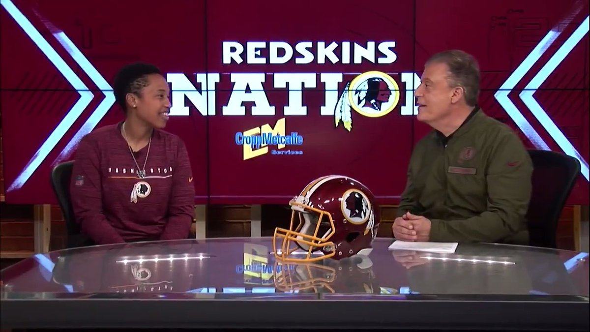 Watch Jennifer King's interview after joining Redskins