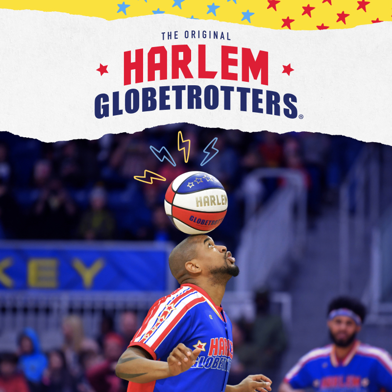 We can't wait to see the @Globies when they come to Denver! With 2 chances to catch the legendary athletes, make sure to grab your tickets today!  #DenverEvents #FamilyEvents 🎟️:
