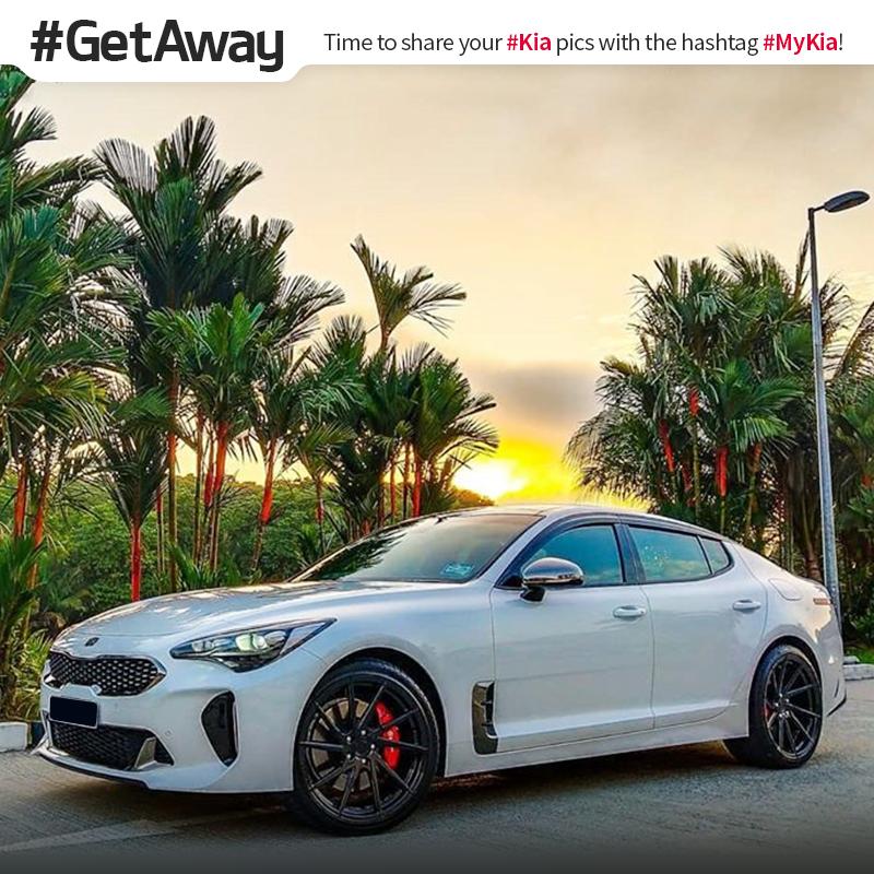Lost in paradise. #GetAway #Stinger <Photo courtesy of Instagram user @ aesthetic_stingergt_bn>