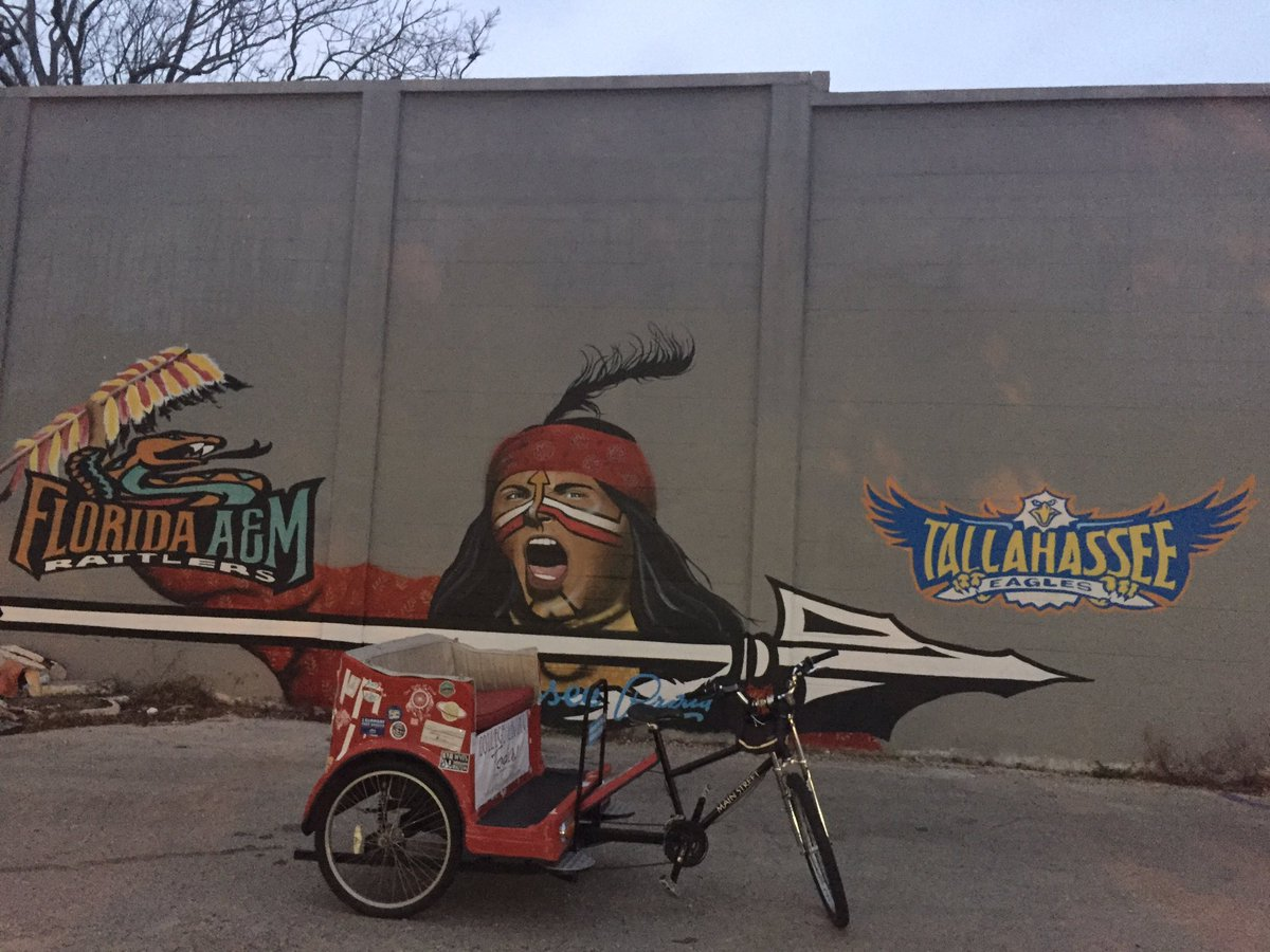 As long as there is a @KolletOriginals mural still in @Visit_Tally we will keep on pedaling!