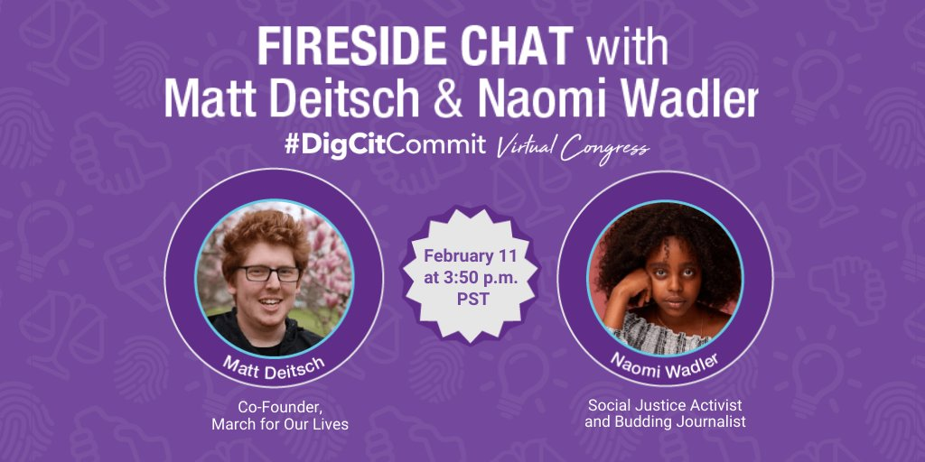What a powerful conversation happening now: youtu.be/gL34LM0Gteo #ThePowerOfStudentVoice #DigCitCommit