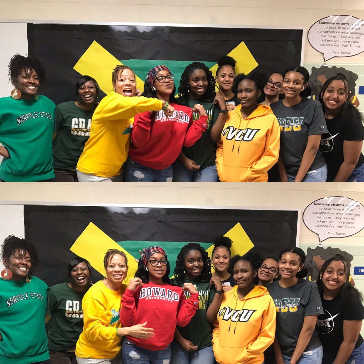 HBCU with our BSU🙌🏼 @KHS_Chiefs