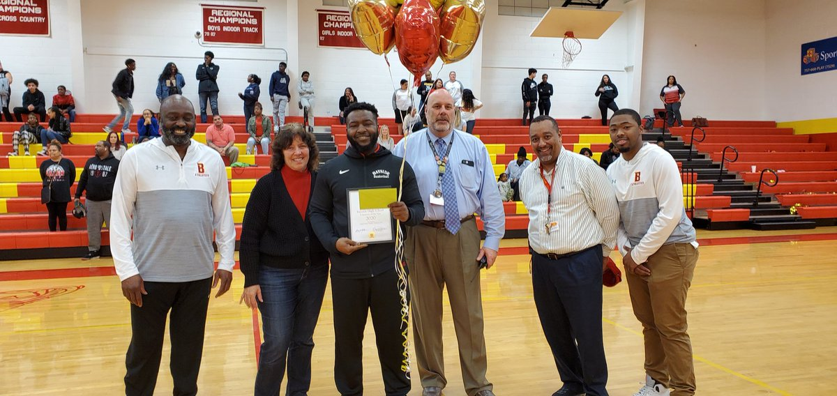 Congratulations D. Wilson! 2020 Volunteer of the Year. Way to go, keep making Bayside Proud.