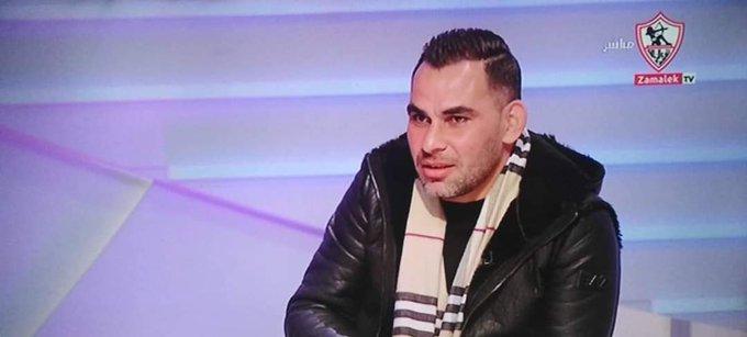مرتضى منصور يطرد عيد عبد الملك من قناة الزمالك