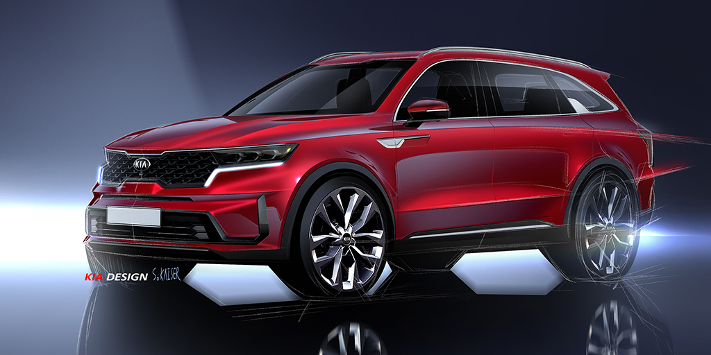 Powerful, progressive and spacious, the new #KiaSorento is as confident and desirable as ever - inside and out. The fourth-generation Sorento makes its debut at @GimsSwiss in March. #Kia #KiaMotors #GimsSwiss
