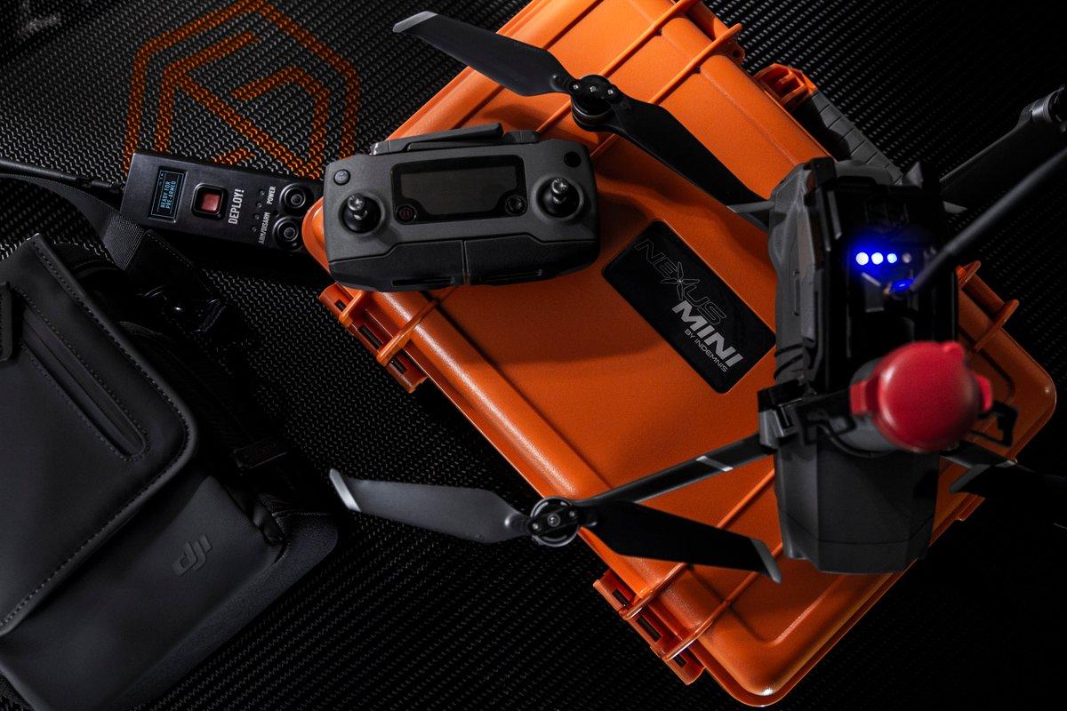 Nexus Mini for the DJI Mavic 2 Drones!!! #drones #dronestagram #drone #droneporn #dji #djimavicpro2 #indemnis #indemnisnexus pic.twitter.com/FVRHlm1MoO