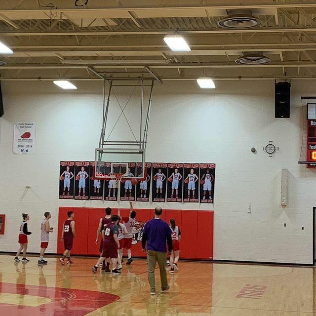 Wonderful game of the Dexter Regional High School and Nokomis High School UNIFIED Basketball teams! #edchatme #meschools #AOS94ME
