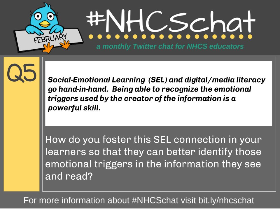 Q5 for @NewHanoverCoSch #NHCSchat. See bit.ly/nhcschat for more info on our monthly Twitter chat!