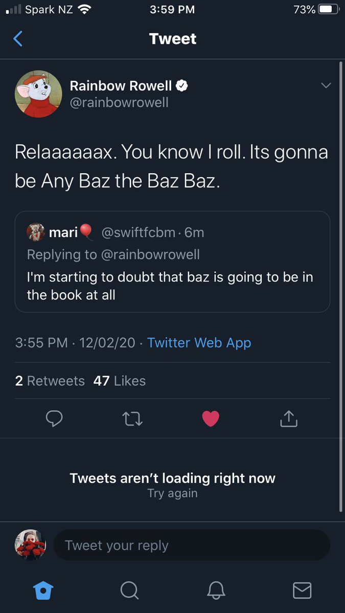 i see your typos ma'am and i appreciate them (peep that double like) @rainbowrowell
