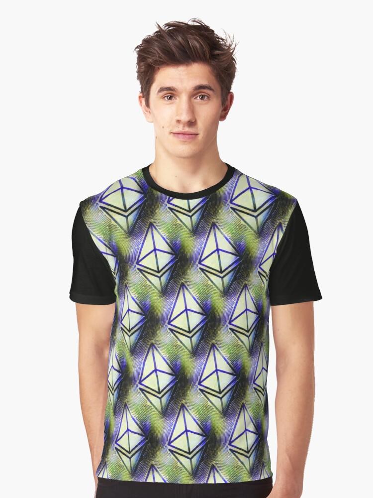 Etherums Grafik T-Shirt Entworfen von rbroo  | #findyourthing   #cryptocurrencies #cryptotwitter #cryptoshirt #etherum #etherumshirt #etherumfan #shirts
