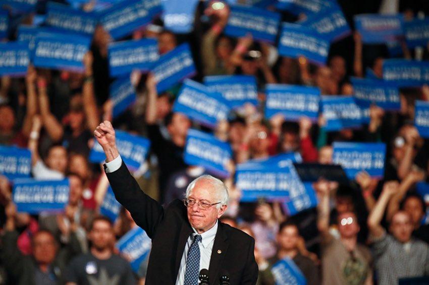 ‼️IT'S OFFFICAL‼️  @BernieSanders has just won New Hampshire. https://t.co/REHZ5pxfrJ