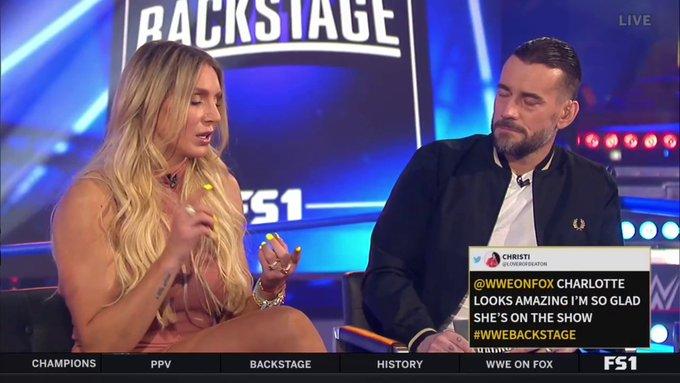 CM Punk e Charlotte Flair discutem sobre a contratação da filha de The Rock pela WWE
