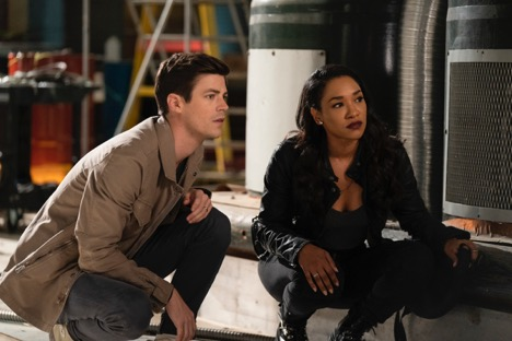 Q12: Give me your predictions as to how long it's going to take for Barry to figure out that Evil Mirror Iris isn't his real wife.  Or will somebody else do that first?  #FlashChat #TheFlash #LoveIsaBattlefieldpic.twitter.com/T2EoDFoCgL