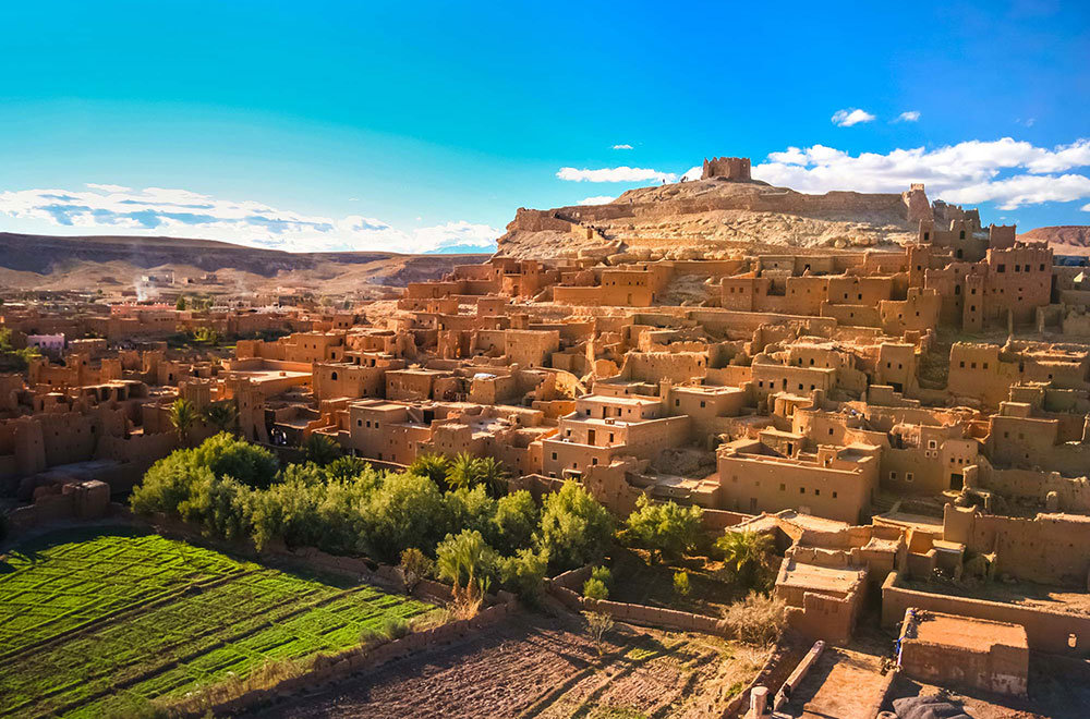 Enjoy the sunrise and sunset on the Ouarzazate, the gateway to the Sahara desert. With its fascinated view, it can take your breath away.  #MoroccoOuarzazate #explore #morocco #marrakech #travel #travelphotography #wanderlust #traveldiaries #tour #moroccodestination #moroccotour