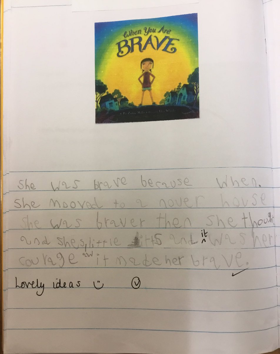 test Twitter Media - We have started a new bookshelf text this week called 'When You Are Brave' by Pat Zietlow Miller. It is a lovely book all about finding our inner courage and being as brave as we can be. We wrote about how and why the main character is brave #gorseyenglish #gorseypshe https://t.co/dogYyEsGN8