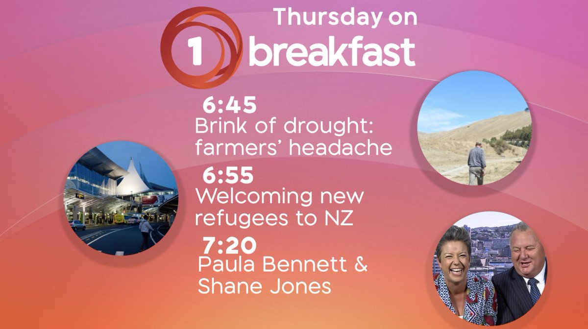 We're live from Blenheim tomorrow! Join us for a farmer's insight on how bad the dry conditions are in the region, how Marlborough's preparing for an influx of refugees, political panel goes head-to-head & how's the wine industry dealing with climate change? That and more from 6!