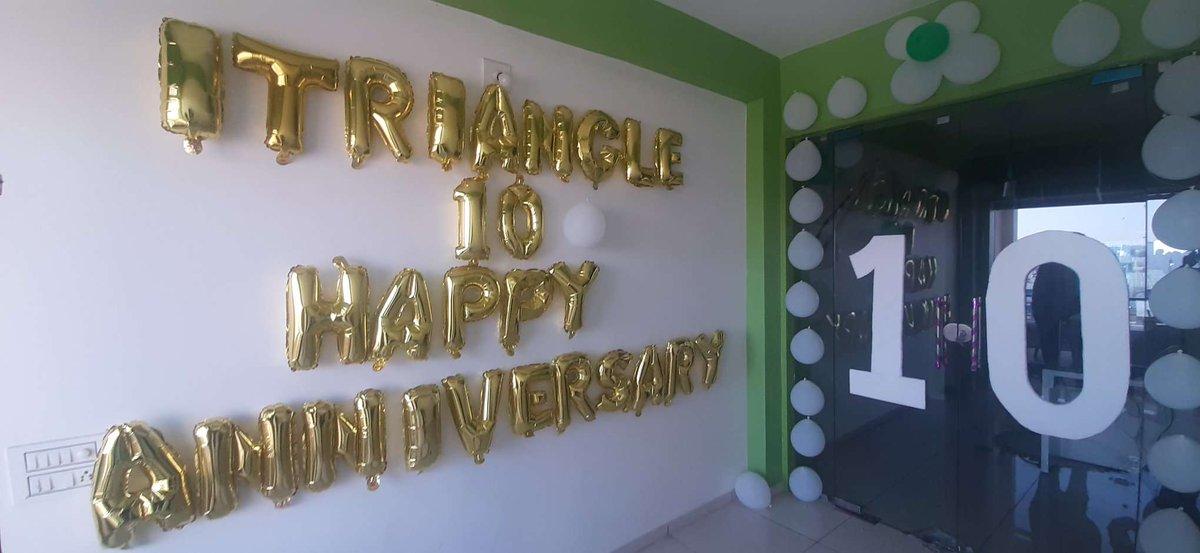 10th anniversary celebration   http://www. itriangletechnolabs.com      #Celebrate #10thanniversary <br>http://pic.twitter.com/9bp94Yma78