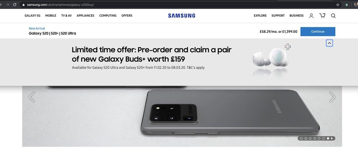 Samsung Norge V Twitter Hei Anton Det Er Ingen Tilbud