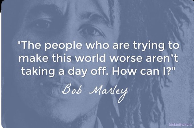 Happy Birthday Bob Marley 02/06/45 HellaryRottenBclinton: There Is Only The Fight