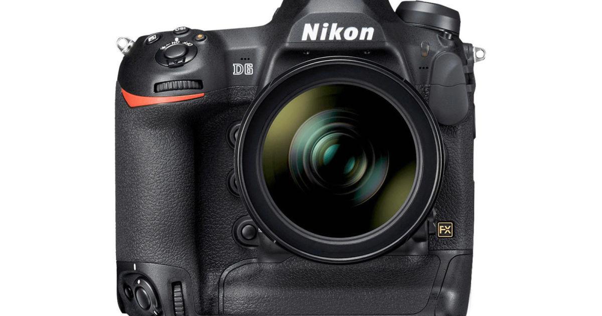 Nikon's D6 flagship DLSR camera arrives in April for $6,500