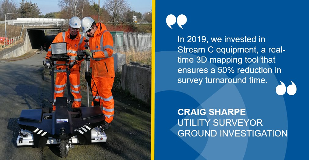 Go behind the scenes with the 'day in the life of a utility surveyor' blog here http://ow.ly/QrbD30qfMz2     #pas128 #StreamC #UndergroundUtilities pic.twitter.com/pdaCsEmgP5