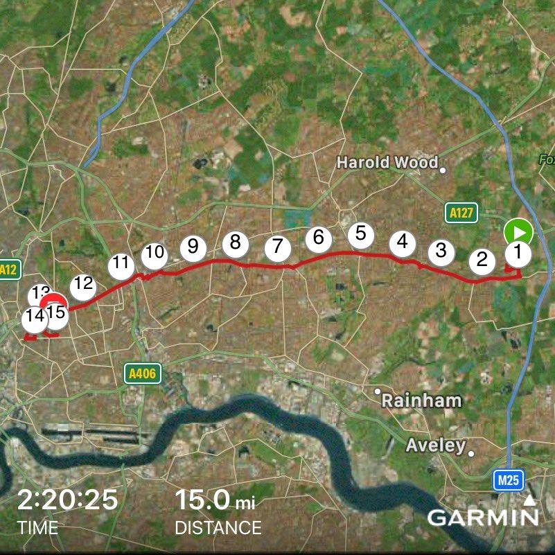 First time running to work... took a little longer than public transport, but felt good.