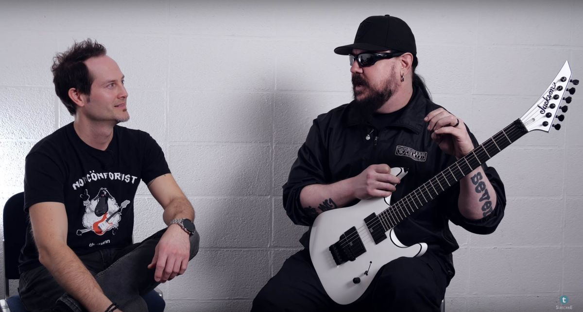 In-depth: @MickThomson_ interview and @slipknot rig tour. Plus! Win a Thomson-signed Jackson signature model https://buff.ly/3bt1nkFpic.twitter.com/ZXmYJZeati