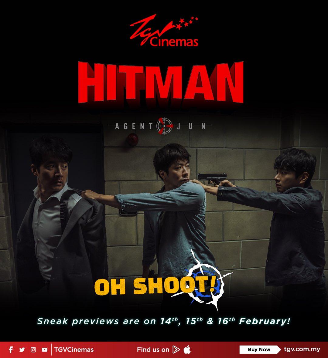 Tgv Cinemas On Twitter Oh Shoot Hitman Agent Jun 히트맨 Sneaks