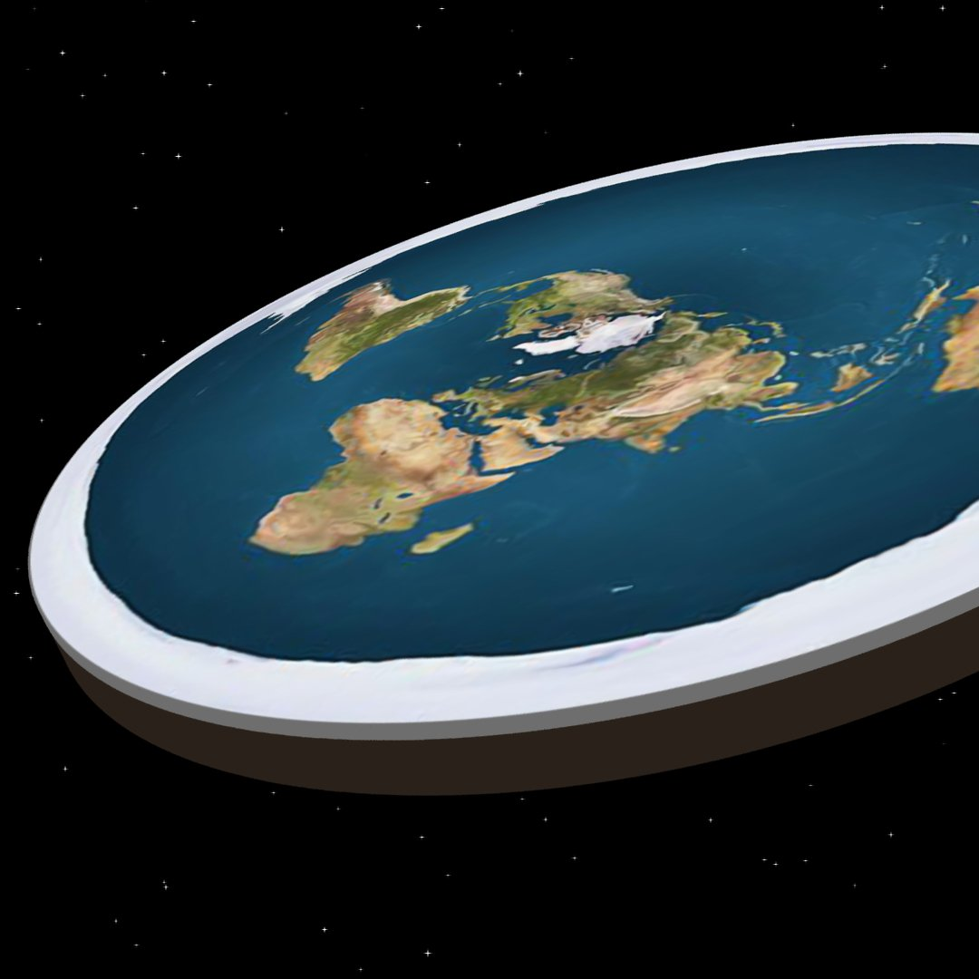 This is what living on a flat Earth would look like! 😳 via @techinsider