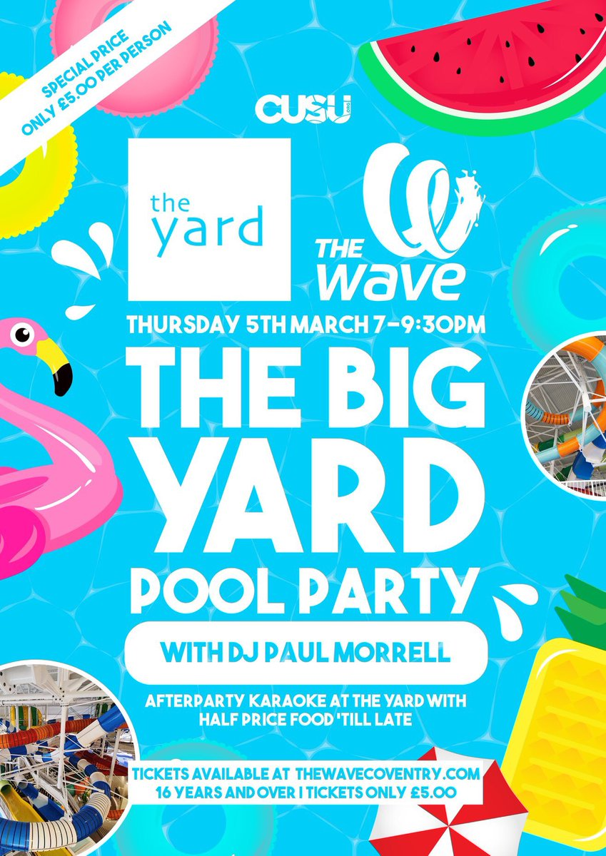 Come and get wet with us! 😉💦 Buy your tickets here🏳️🌈➡️ eventbrite.co.uk/e/big-yard-poo…