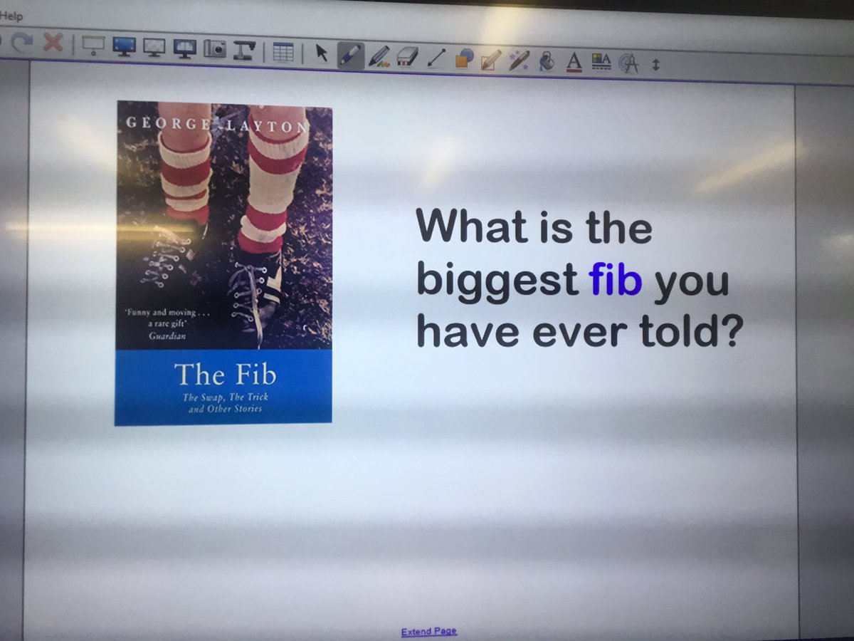 test Twitter Media - We have loved starting our new bookshelf book 'The fib' today. We have some very naughty Year 5s who have told some big fibs! #gorseyenglish #gorseybookclub https://t.co/dndCxCr3qS