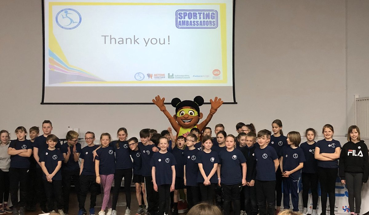 Fantastic evening celebrating our Blaby & Harborough Sporting Ambassadors at @LuttHigh. Huge thanks to Anita & Zoom for delivering a super @DailyBoost_LRS workshop! #determination #honesty #passion #respect #selfbelief #teamwork #sportingambassadorspic.twitter.com/LD2zi2m6eq