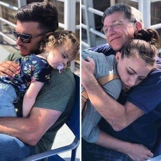 د براك القلاف V Twitter صورة معبرة تدور السنين ويبقى حنان الاب الأجمل والأعظم فهو أول بطل في حياة ابنته