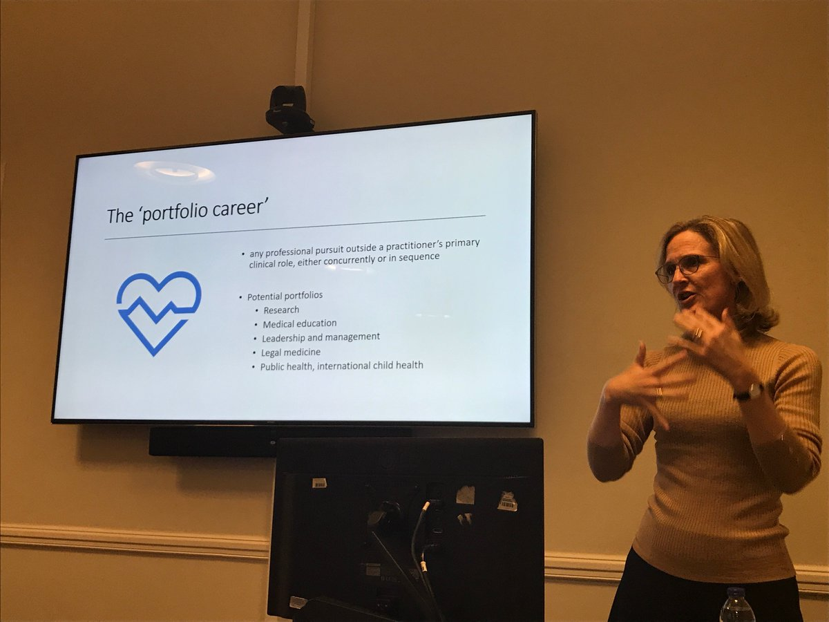 How to keep a spring in your step: think about a portfolio career :) @CamillaKingdon @LondonPaeds @ejparish https://t.co/AlrVvcrZQU