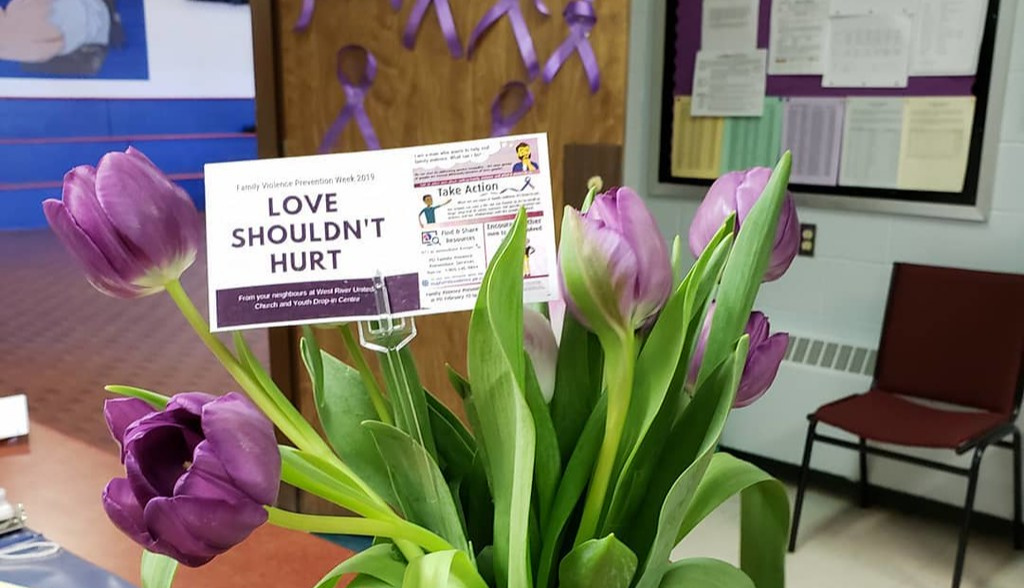 On Wed, Feb 12 Wear Purple to raise awareness of Family Violence Prevention Week, to remember victims of violence and their families, to show that violence in any relationship is not acceptable.   @PEIFVPS #stopfamilyviolence #pei