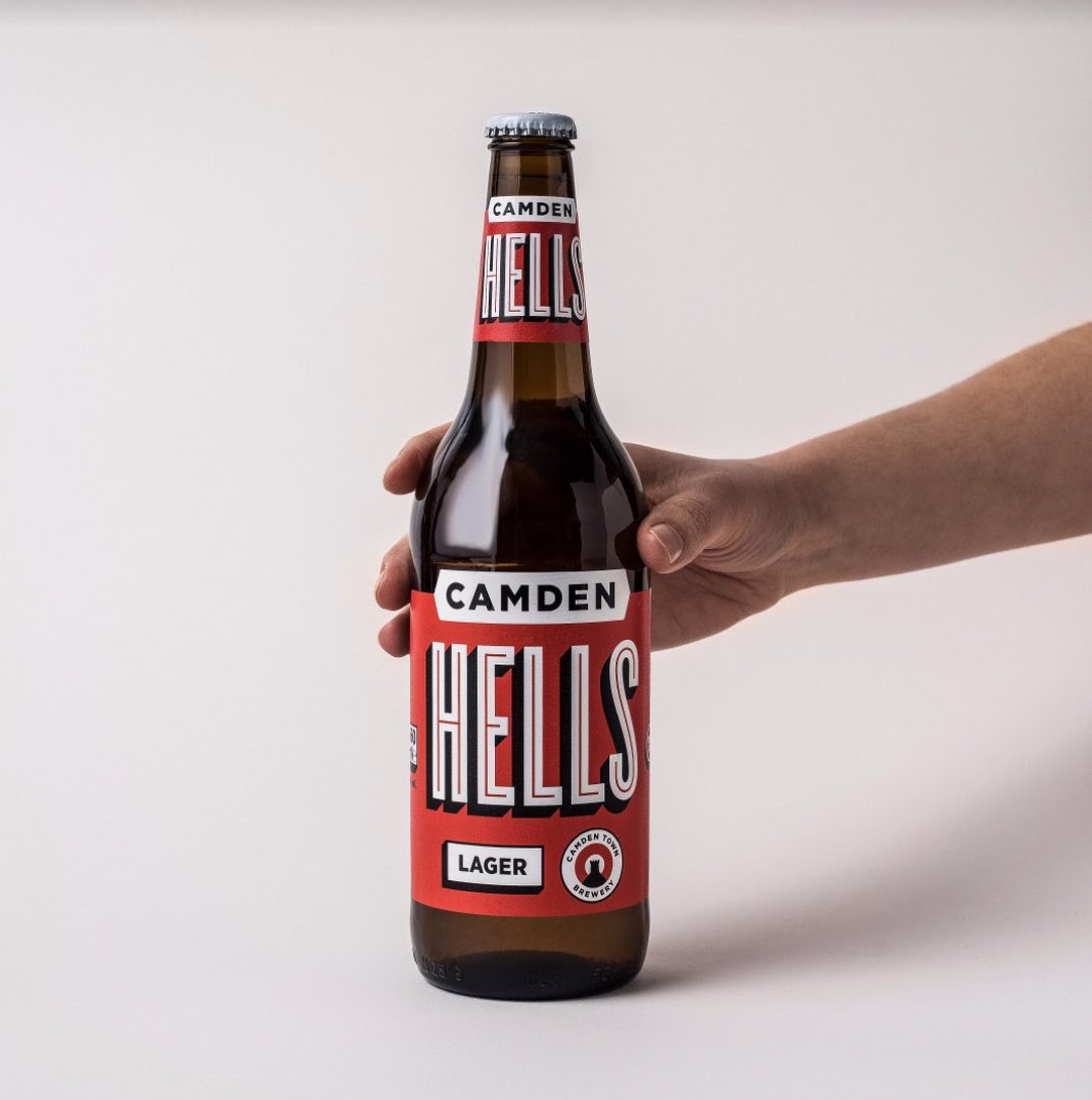 LAGER LOVERS - Valentines day is coming up, so why not share a beer? shop.camdentownbrewery.com/products/lager…