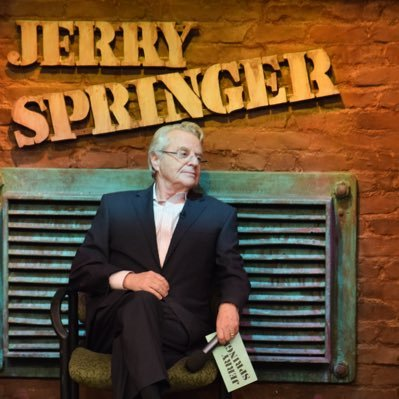 "February 13:Happy 76th birthday to talk show host,Jerry Springer (""Jerry Springer Show\"")"