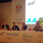 Image for the Tweet beginning: Today in #WUF10 we heard