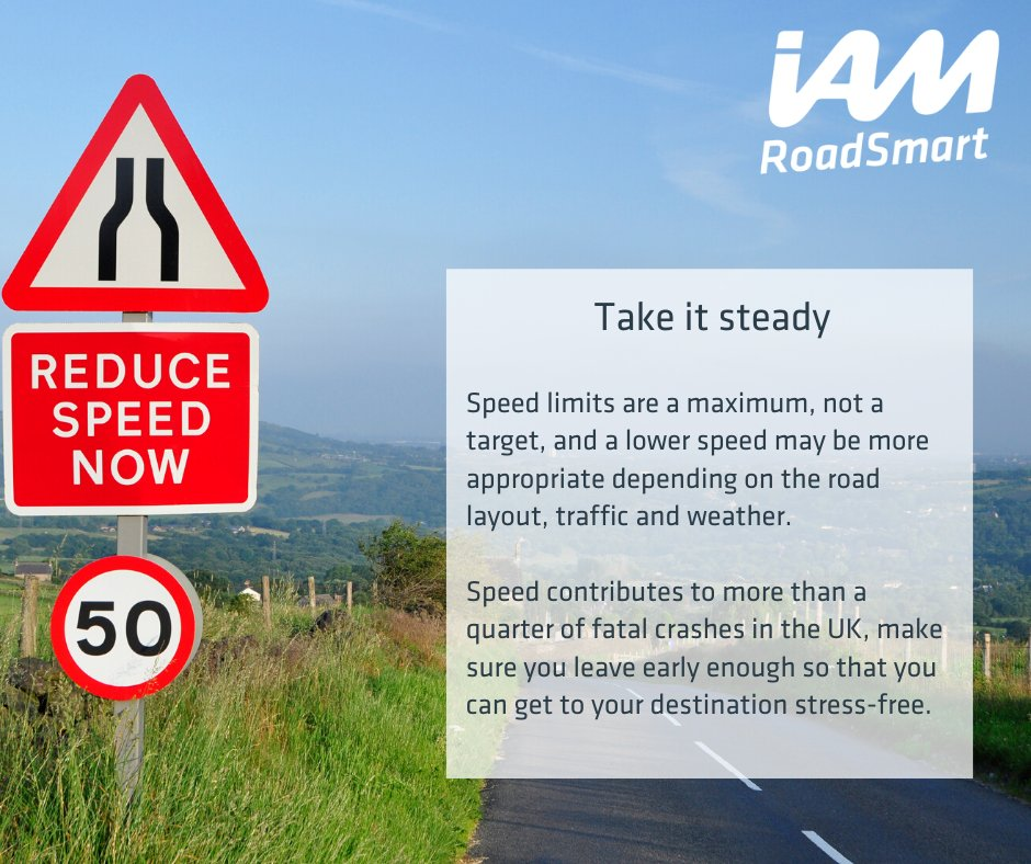 Speeding contributes to more than a quarter of fatal crashes in the UK - make sure you take it steady to keep yourself and your loved one safe.   #ShareTheLove #LoveYourJourney #BetterTogetherpic.twitter.com/b9uLJtPiAD
